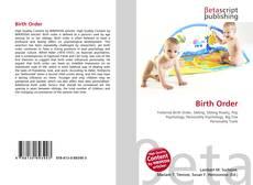 Birth Order kitap kapağı