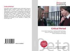 Capa do livro de Critical Period