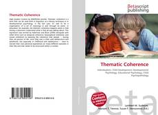 Bookcover of Thematic Coherence