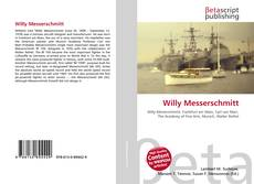 Willy Messerschmitt kitap kapağı