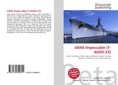 Bookcover of USNS Impeccable (T-AGOS-23)