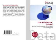 Bookcover of Unicode Phonetic Symbols