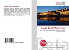 Bookcover of Volga–Baltic Waterway