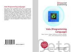 Capa do livro de Vala (Programming Language)