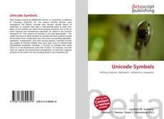 Unicode Symbols kitap kapağı