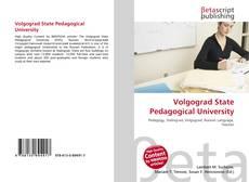 Bookcover of Volgograd State Pedagogical University