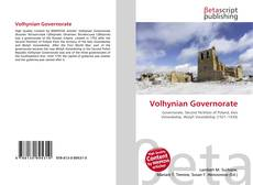 Bookcover of Volhynian Governorate