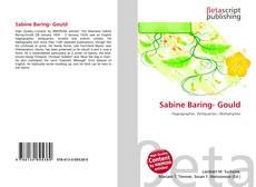 Portada del libro de Sabine Baring- Gould