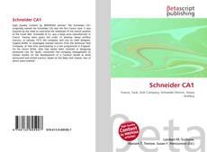 Portada del libro de Schneider CA1