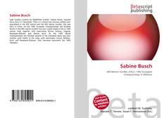 Bookcover of Sabine Busch