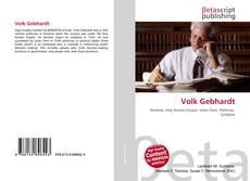 Bookcover of Volk Gebhardt