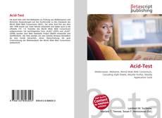 Bookcover of Acid-Test