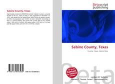 Portada del libro de Sabine County, Texas