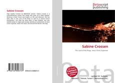 Bookcover of Sabine Crossen