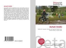 Bookcover of Acholi (Volk)