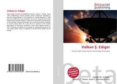 Volkan Ş. Ediger kitap kapağı