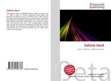 Bookcover of Sabine Hack