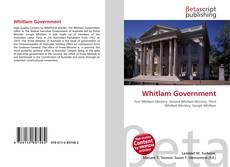 Capa do livro de Whitlam Government