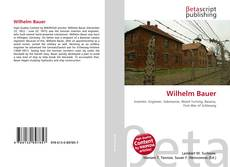 Bookcover of Wilhelm Bauer