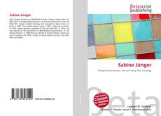 Bookcover of Sabine Jünger