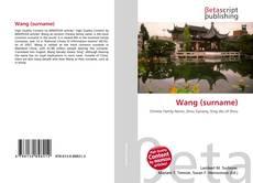 Capa do livro de Wang (surname)