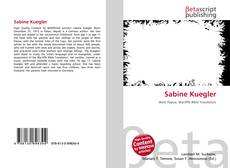 Bookcover of Sabine Kuegler