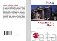 Bookcover of Ya'akov Shimshon Shapira