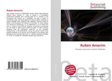 Capa do livro de Ruben Amorim