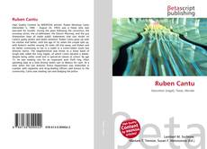 Bookcover of Ruben Cantu