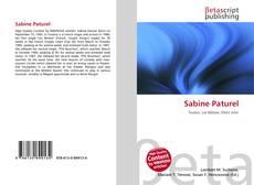 Bookcover of Sabine Paturel