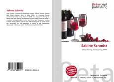 Bookcover of Sabine Schmitz