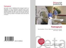 Bookcover of Tiotropium