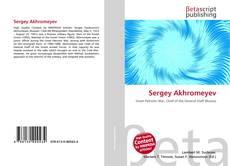 Bookcover of Sergey Akhromeyev
