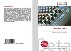 Bookcover of Yamaha SY85