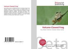Capa do livro de Volcano Clawed Frog