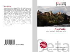 Bookcover of Osu Castle