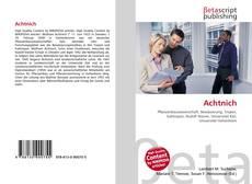 Buchcover von Achtnich