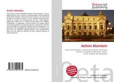 Portada del libro de Achim Kleinlein