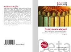 Bookcover of Neodymium Magnet