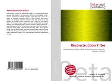 Bookcover of Reconstruction Filter