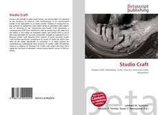 Bookcover of Studio Craft