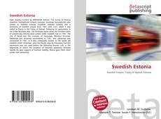 Buchcover von Swedish Estonia