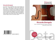 Buchcover von Riccardo Brengola