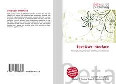 Copertina di Text User Interface