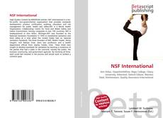 Bookcover of NSF International