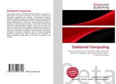 Bookcover of Sideband Computing