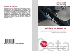 Обложка William M. Fraser III