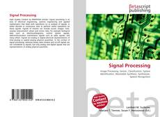 Bookcover of Signal Processing