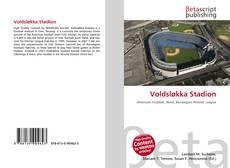 Bookcover of Voldsløkka Stadion