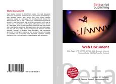 Capa do livro de Web Document